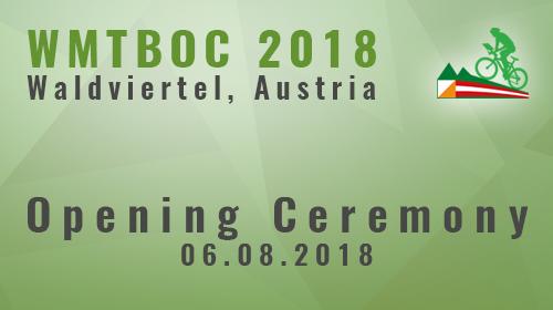Opening Ceremony - WMTBOC 2018